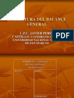 ESTRUCTURA DEL BALANCE GENERAL.ppt
