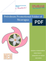 Petroleum Promotional Folder of Nicaragua