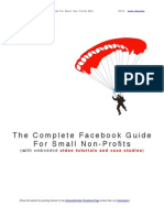 The Complete Facebook Guide for Small Non Profits 6-17-2010