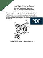 Diseño de ejes de transmisión