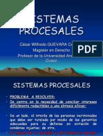 Sistemas Procesales en El Ncpp