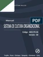 Manual Sistema de Cultura Organizacional
