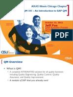 ASUG_ Introduction to SAP QMS