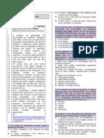 Caderno de Questoes Exame de Selecao 20132