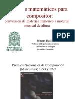 Hasler - Recursos Matem Ticos Para El Compositor 2011
