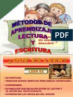 MÉTODOS DE ENSEÑANZA LECTOESCRITURA