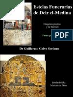 Estelas Funerarias de Deir El-Medina - Antiguo Egipto