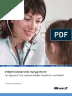 MicrosoftDynamicsCRM for Healthcare PRM WhitePaper NA
