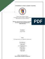Derecho de Los Mercados Financieros - El Cooperativismo