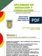 Aspectos Generales de Mediacion y Conciliacion