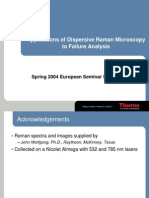 Applications of Dispersive Raman Microscopy to Failure Analysis