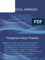 Protocol Jaringan