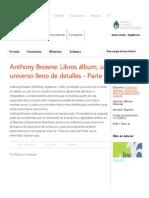Anthony Browne_ Libros álbum, un universo lleno de detalles - Parte II - Recursos educ