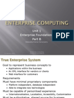 EC-Unit 1B Enterprise Foundations