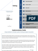 Applied Systems Thinking Checklists