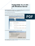 Instalar PostgreSQL 9