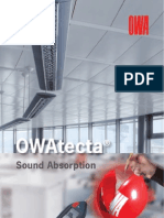 DS 358 E OWAtecta Sound Absorption 051102x