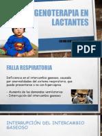 Oxigenoterapia en Lactantes