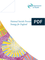 National Suicide Prevention Strategy for England