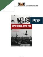 Otro Tiempo, Otra Vida - Leif GW Persson