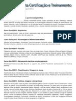 Conteúdo Programático - Excel 2010 - Módulo I