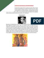 ARTISTAS PLÁSTICOS NACIONALES CONTEMPORÁNEOS