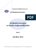Iaf Md 5 2013 Qms Ems_audit_durationpub