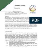 Seismic Microzonation Assessment in Hong Kong