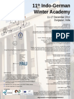 11th Indo-German Winter Academy2012
