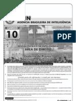 Prova - Oficial Técnico de Inteligência Direito 17.11.10