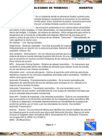 Material Glosario Terminos Ingles Espanol Komatsu