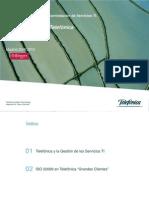 Telefonica ISO 20000 v2