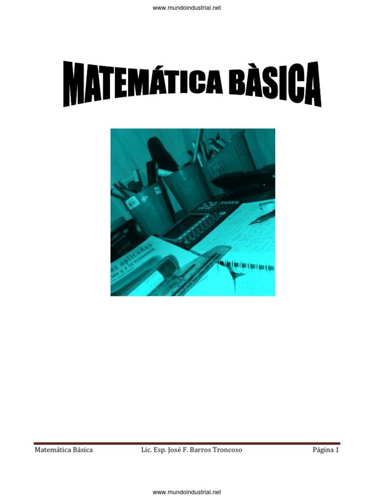 Manual de Matematica Basica