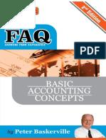 FAQ Basic Accounting Concepts