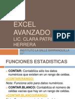 Excel Avanzado 1