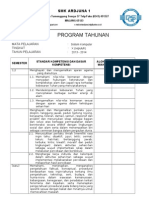 F-Kur-01-6 Program Tahunan Sistem Komputer