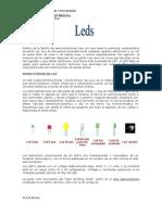 Guia de información de leds