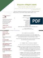 Naqshbandi Org Adab Etiquette of Rajab Htm