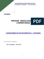 Prova Informatica INSS 2002