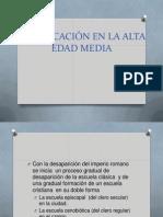 historiaeducacionedadmedia-101021141641-phpapp01.ppt