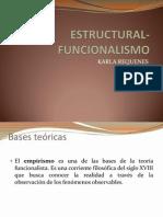 ESTRUCTURAL-FUNCIONALISMO
