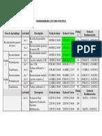 Cronograma CP