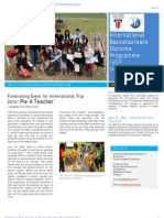 Taylor's IBDP Newsletter (April '13 Issue)