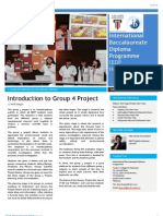 Taylor's IBDP Newsletter (May '13 Issue)