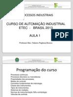 APRESENTAÇÃO_PROCESSOS INDUSTRIAIS-AULA1