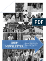 Taylor's IBDP Newsletter (June '13 Issue)