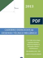 Caderno de Exercicios Desenho Tecnico Mecanico