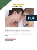 5 Passos Para Ser Mais Feliz No Sexo