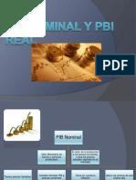 Diapositivas de Pbi Nominal y Pbi Real