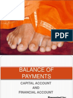 BALANCE OF PAYMENTS - CAPITAL ACCOUNT AND FINANCIAL ACCOUNT